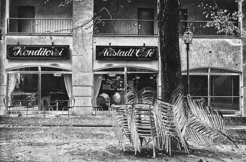 Aluminum Chairs, Former West Berlin