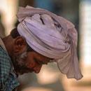 man with turban in jaisalmer