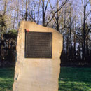 the arnhem memorial at the old RAF down ampney airfield
