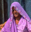 village street seller in rajasthan