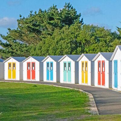 Par Beach Huts-©Gill Smith (2nd)
