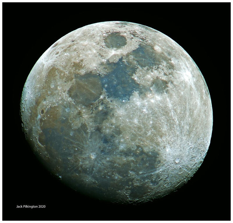 The Moon in Colour-©Jack Pilkington
