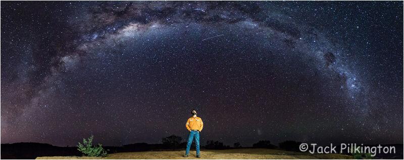 Watching the Milky Way-©Jack Pilkington