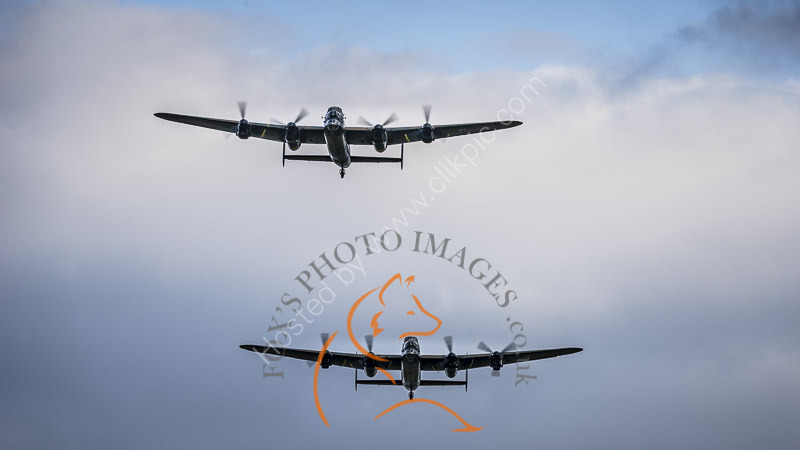 The City of Lincoln and CWHM Lancasters 5