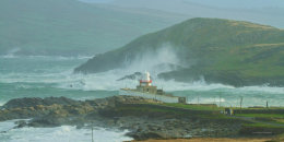 Storm, Valentia Light House