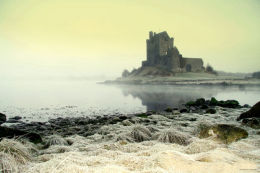 Foggy Castle. Kinvara Ireland