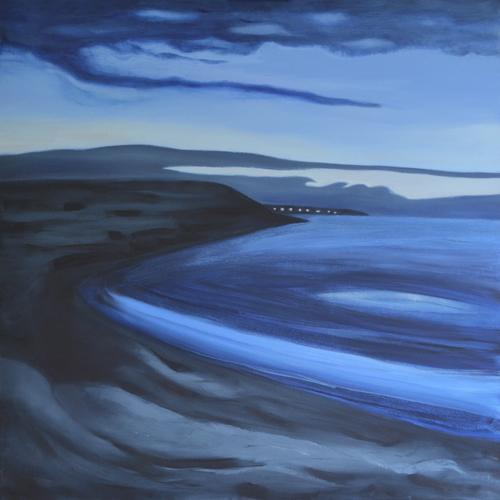 As Night Falls, Carbis Bay, 2014 (sold)