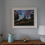 Winter afternoon framed