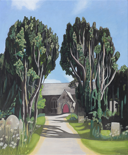 The shelter of Yew, 2018 (sold)