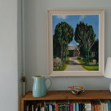 The shelter of Yew framed