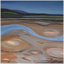 Low tide on the bank of the River Lune, Sunderland Point (sold)