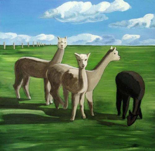 Meet The Alpacas, 2009 (sold)