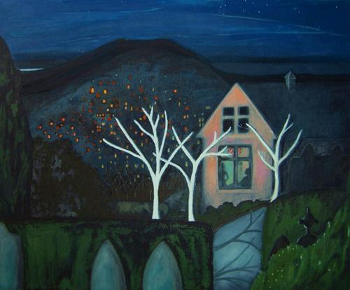 Moon Nights, 2009 (sold)