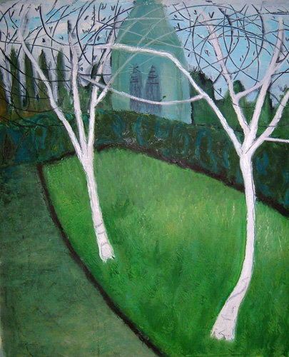 Nearly Spring, Stroud Cemetery, 2008 (sold)