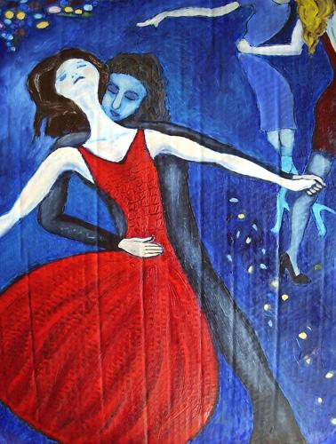 Red Dancer, 2008 (sold)