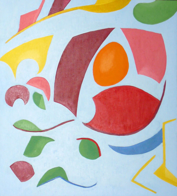 Abstract composition 3 - oil painting
