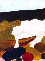 Autumn - acrylic painting