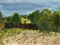 Landscape East Sutton - acrylic