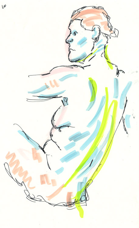 Life drawing - Imogen - 21 11 210
