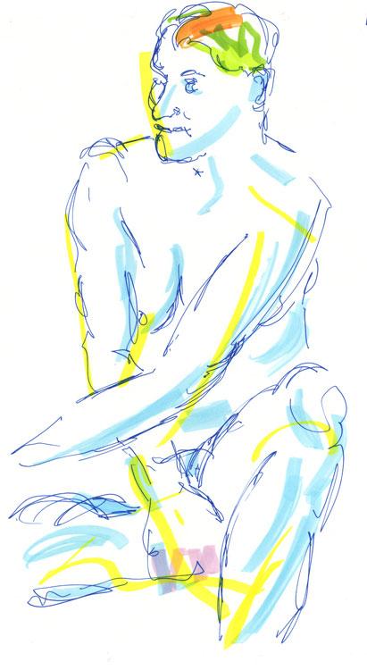 Life drawing - Imogen - 21 11 214
