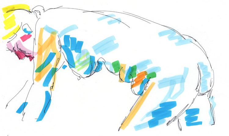 Life drawing - Imogen - 21 11 218