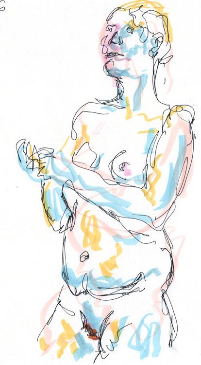 Life drawing - Imogen - 21 11 26