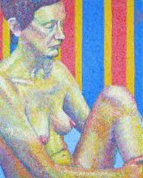 Life painting - Anna - acrylic