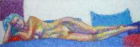 Life painting - Lena - acrylic