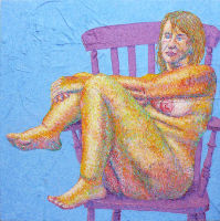 Life painting - Laurie - acrylic