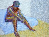 Life painting - Andrea - acrylic