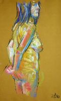 Life study - Agnieszka - pastel