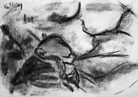 Life study - Caro - Croydon Life Drawing Group - charcoal