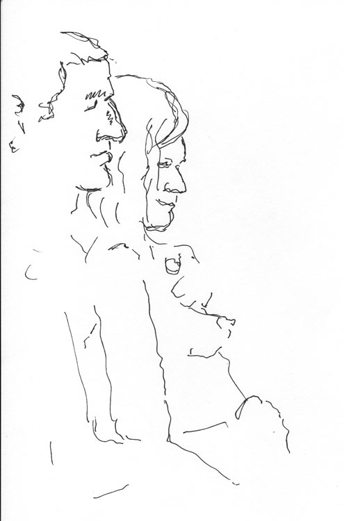 Life study - Esther and Steve 10-12-12