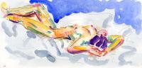 Life study - Ji-Yu - watercolour