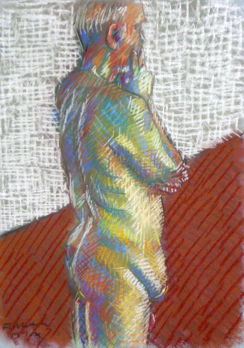 Life study - Ken - Croydon Life Drawing Group - pastel