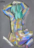 Life study - Lena - pastel