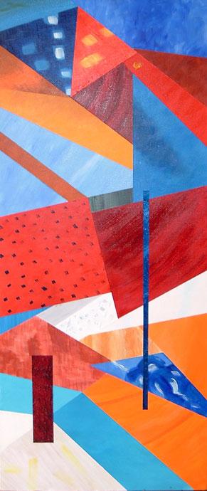 Cornwall 2 - acrylic