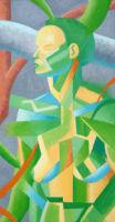 Dryad - oil painting