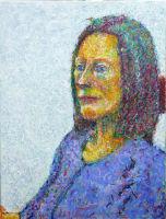 Portrait - Jeanette - acrylic