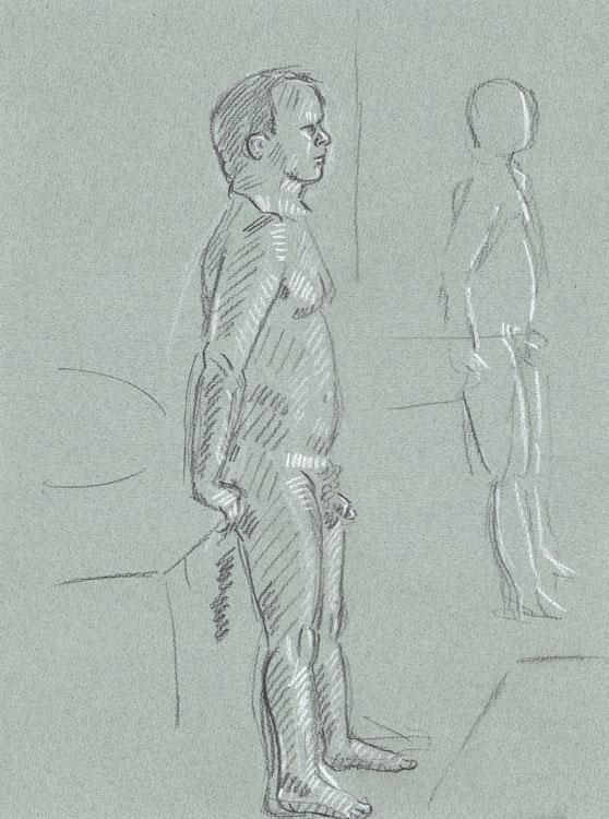 steve 2 drawing