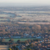 Early morning above Steyning, West Sussex