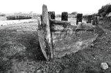 Wreck nr Old Shoreham Bridge, West Sussex