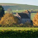 St Botolph's, Adur Valley, West Sussex in Autumn 1