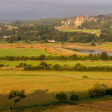Early morning in Summer from Mill Hill in the Adur Valley