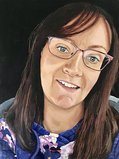 Diane NHS Portrait #6