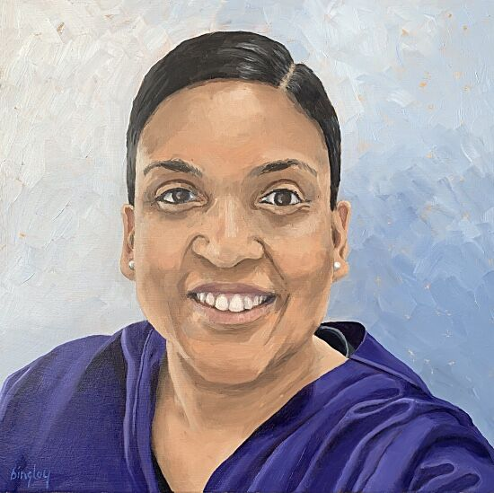 Gaya NHS Portrait #3