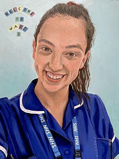 Katherine NHS Portrait #4