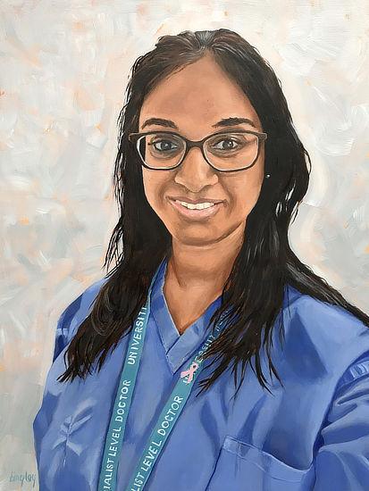 Reena NHS Portrait #7