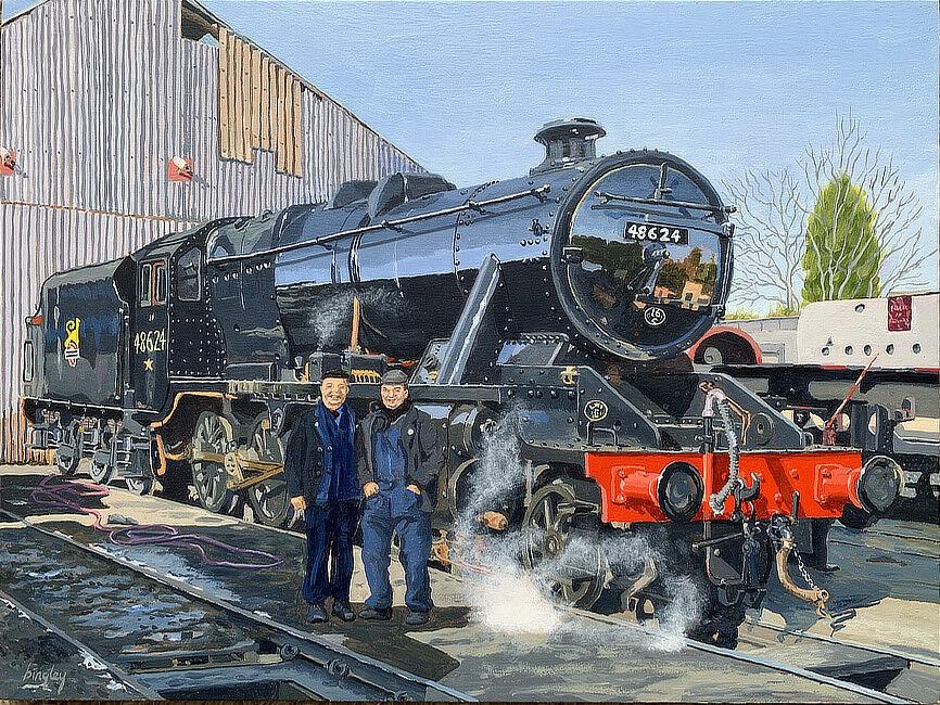 Locomotive 48642
