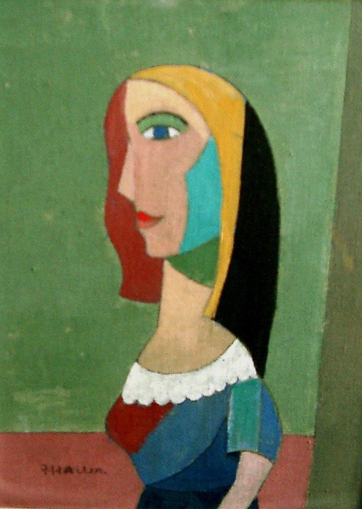 eye form.  acrylic on canvas 41x30cm